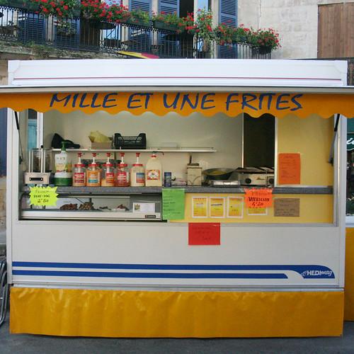 dyptique belvésoise - 1: mille et une frites
