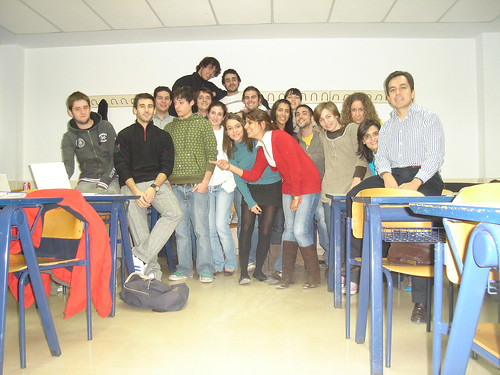 Mis alumnos de ESIC - 2007-2008