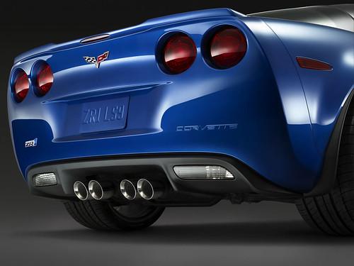 Фотографии нового Chevrolet Corvette ZR1