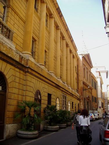 Rome, Teatro Valle, facade