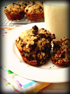 enuff for breakfast : choco coconut muffin