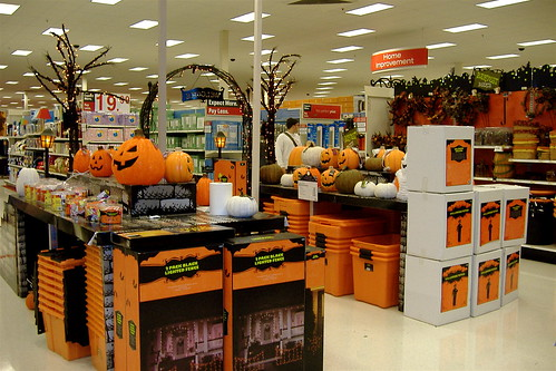 halloween display at target in denver