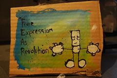 F.E.A.R (my dog sighs) Tags: brown ian fb fear cardboard mydogsighs freeart faf freeartfriday
