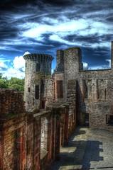 Caerlaverock Castle Interior
