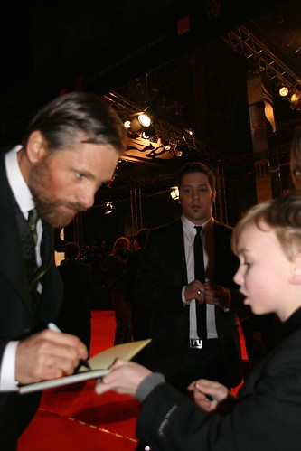 charlie and viggo mortensen at the baftas