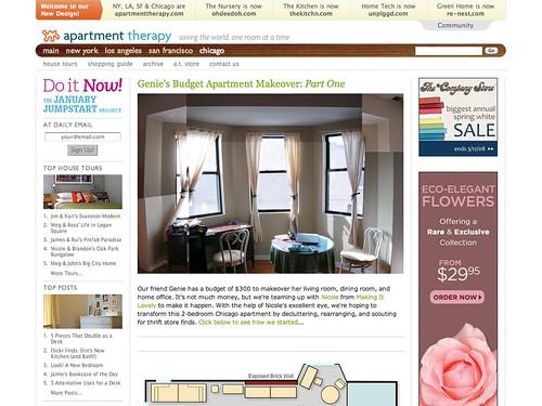 Genie's Budget Apartment Makeover