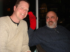 Matt, Sock Puppet and Greg