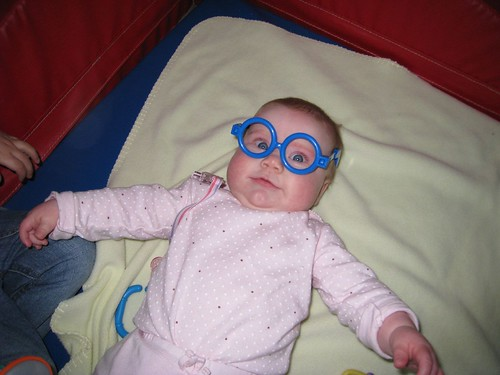Ellie in the Goo Goo Goggles