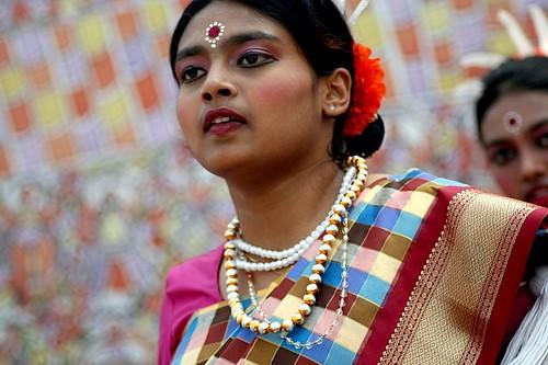 Karnataka girl An old photo taken on International Women's Day