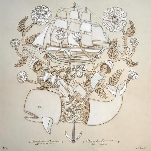 artist evan b. harris: Blue Ribbon Whale