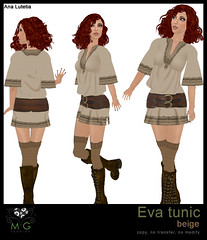 [MG fashion] Eva tunic (beige)
