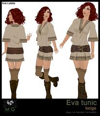 [MG fashion] Eva tunic (beige)
