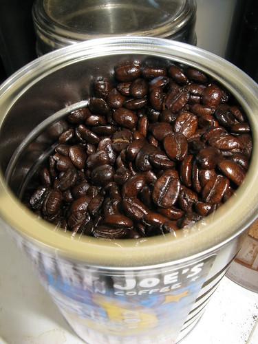 Jittery Joe's espresso