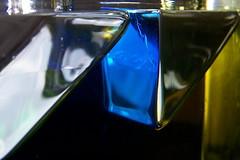 light geometry: bermuda (Star, LaikazEyes: zazzle.com) Tags: blue sunlight abstract black macro lines triangles reflections gold geometry liquid naturalcolor 1004482 laikazeyes macromanic