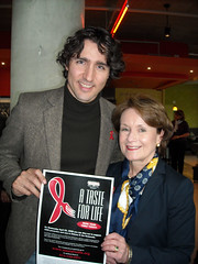 "Justin Trudeau and Penny promoting a Taste for Life • <a style=""font-size:0.8em;"" href=""http://www.flickr.com/photos/21584185@N07/2412665465/"" target=""_blank"">View on Flickr</a>"