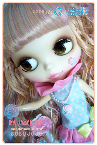 BUBUJOJO handmade blythe outfit**Q dot** by ♥BUBUJOJO♥.