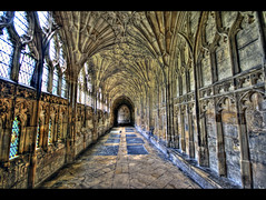 Hogwart Hall (vgm8383) Tags: uk glass canon hall cathedral unitedkingdom harry potter harrypotter stainedglass stained cloister hogwarts middleages gloucestercathedral glocester fineartphotos mywinners rebelxti diamondclassphotographer flickrdiamond flickrbestpics fanvaultedroof