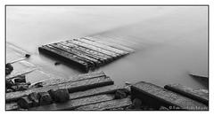 The past rises. (PvRFotografie) Tags: nederland holland rotterdam rotterdamzuid river rivier water urbex monochrome blackandwhite blackwhite zwartwit longexposure nd leebigstopper leesw150 sonyilca99m2 variosonnar247028za variosonnartdt28222470 variosonnart28222470 za zeiss carlzeiss