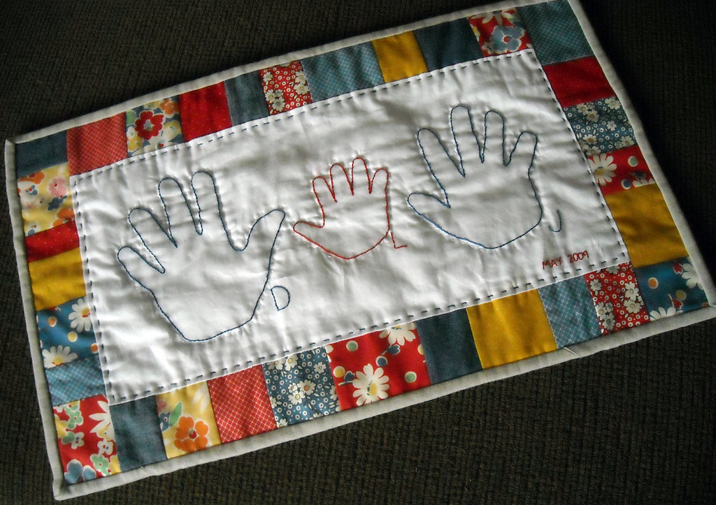 The world s best photos of handprints and quilt flickr hive mind