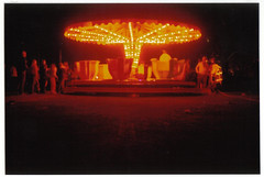 (Duncan Coulter) Tags: carnival orange film night lights merrygoround canoneos300