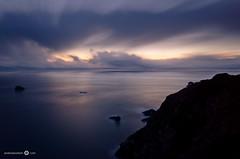 Big Sur Twilight (andreaskoeberl) Tags: ocean california longexposure blue silhouette clouds dark twilight nikon pacific tripod bigsur ndfilter 1685 d7000 nikon1685 bigstopper nikond7000 andreaskoeberl
