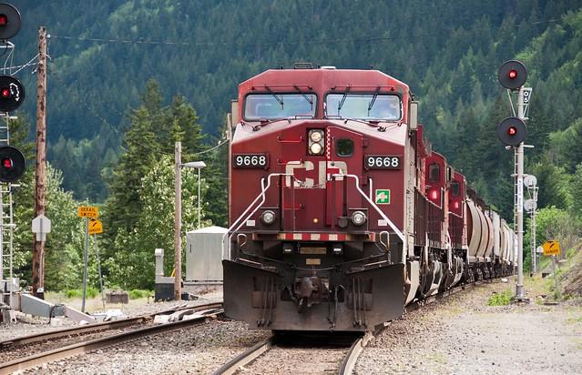 CP rail North Bend BC