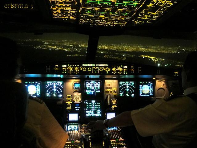 Aterizando en Guayaquil.