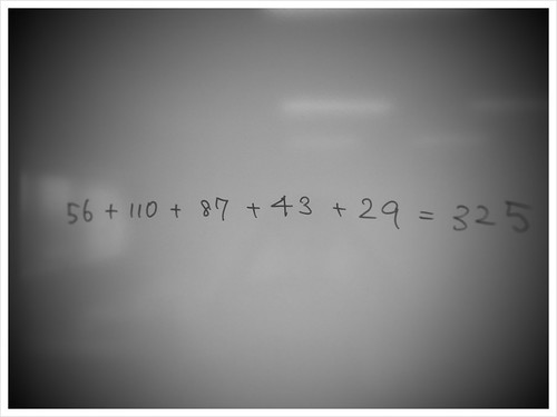 56+110+87+43+29=?