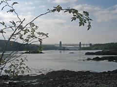 Menai Straits - Britannia Bridge (JeanM1) Tags: stephenson menaistraits britanniabridge