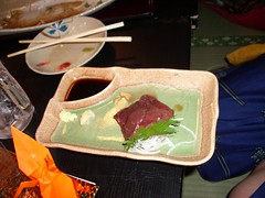 Sashimi...Horse Sashimi