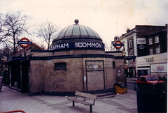 Clapham Common Tube Station 1989 (The Green Odyssey) Tags: 1920s london underground dome tubestation 1989 claphamcommon claphamcommontubestation claphamcommonundergroundstation