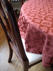 autumn tablecloth