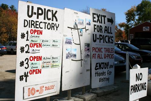 U-Pick directory