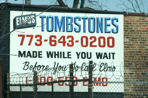 Elmo's Tombstones