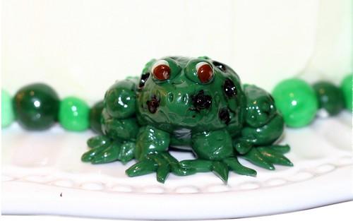 Fondant Frog - Front