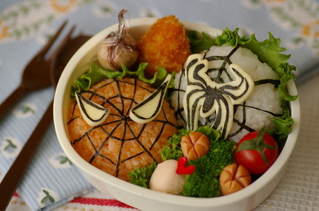 Spiderman bento box by luckysundae.
