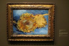 Paris - Muse d'Orsay - Vincent Van Gogh's Two Cut Sunflowers (wallyg) Tags: paris france art museum painting europe muse sunflowers orsay vangogh museedorsay dorsay musedorsay vincentvangogh orsaymuseum twocutsunflowers vollardgallery fromczannetopicasso