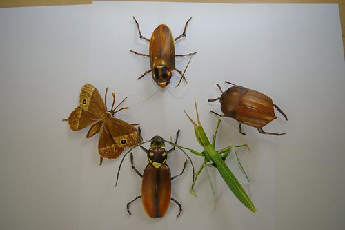 papercraft bugs