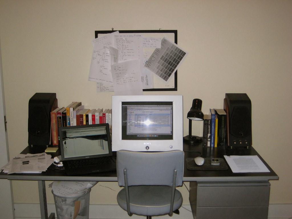 busted computer setup