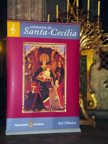 Cartel de la Semana de Santa Cecilia