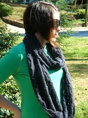Loop Shawl from Sensual knits (stupid clever) Tags: sensualknits ravelry leahbear loopshawl