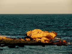 Sem nome. (Goga_) Tags: luz mar mediterraneo pedra horizonte goga gogliardo