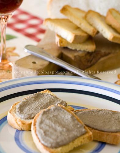 Crostini Toscani ai fegatini