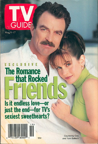 Tv Guia Tom Selleck y Courteney Cox