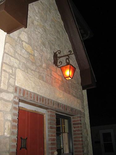 ye olde exterior light
