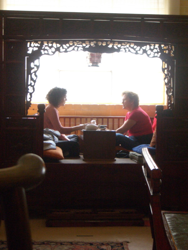 Table for two at Red Door