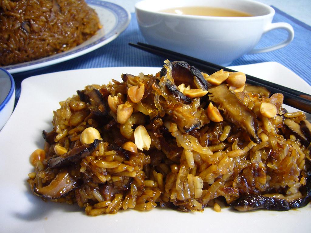 糯米饭 (glutinous rice)