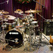Dave Weckl's kit & Anthony Jackson's bass rig