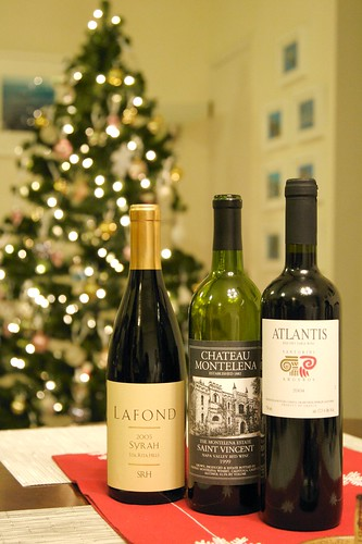 The Wines with the Christmas Tree