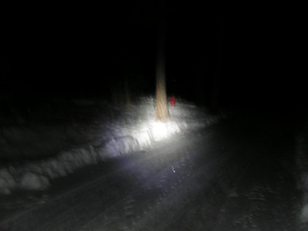 LED torch beam